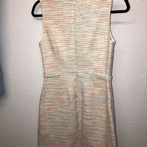 Cynthia Steffe Off-white multi-colored mini dress